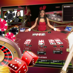 Betting in a live casino